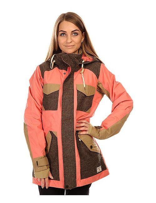 Burton | Женская Розовая Куртка Женская Wb Prestige Jk Coraline Coloblock