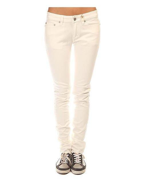 Insight | Женские Белые Джинсы Узкие Женские Beanpole Skinny Raw White