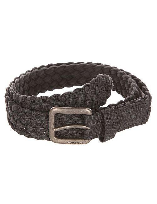 Quiksilver | Мужской Серый Ремень London Weave Black