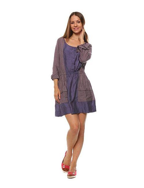 Insight | Женское Фиолетовое Платье Женское Raggedy Anne Dress Dob Purple