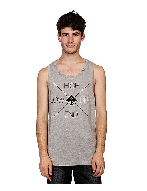 LRG | Мужская Майка H.E.L.L. Tank Top Ash Heather