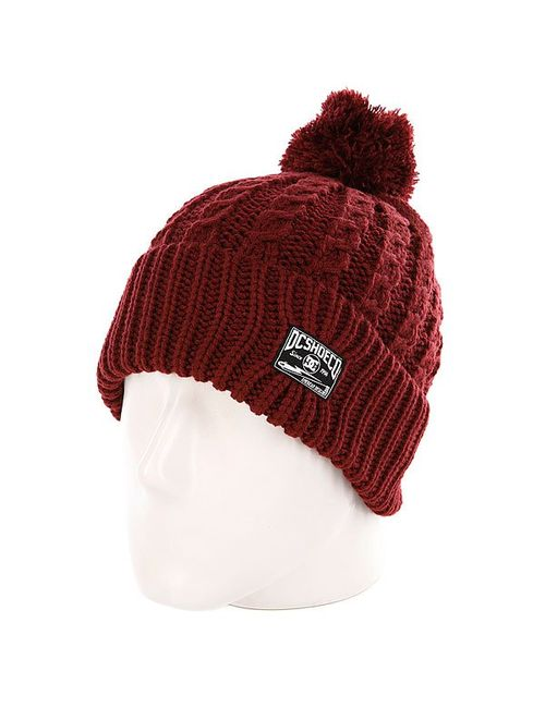 Dcshoes | Мужская Шапка Dc Go Knit Yourself Bordeaux