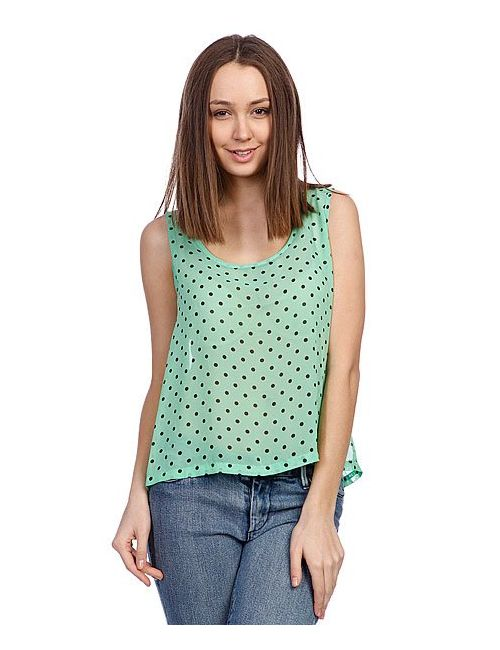 Rules By Mary | Женская Майка Женская Ella Printed Top Grass Dot