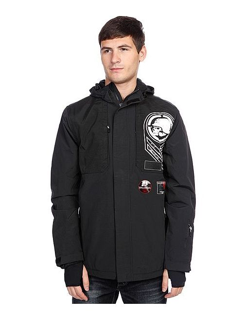 Metal Mulisha | Мужская Чёрная Куртка Зимняя Transfigure Black