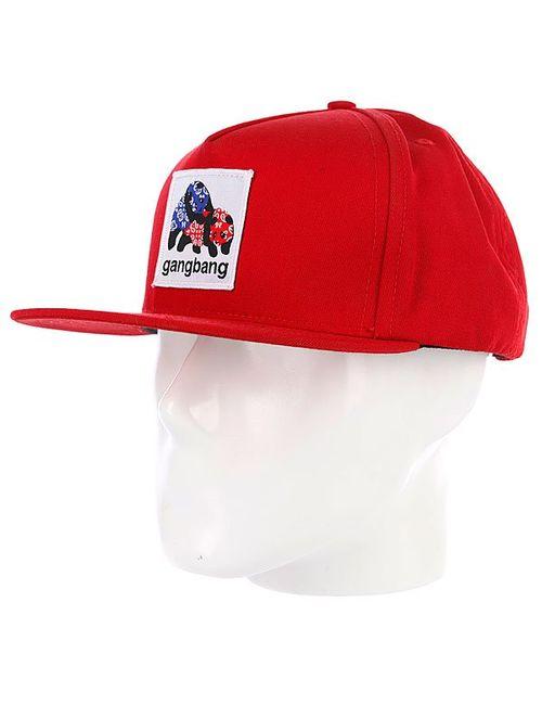 Enjoi | Мужская Красная Бейсболка Gangbang Red