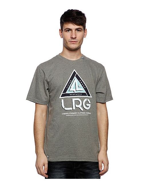 LRG | Мужская Футболка Trisector Tee Charcoal Heather