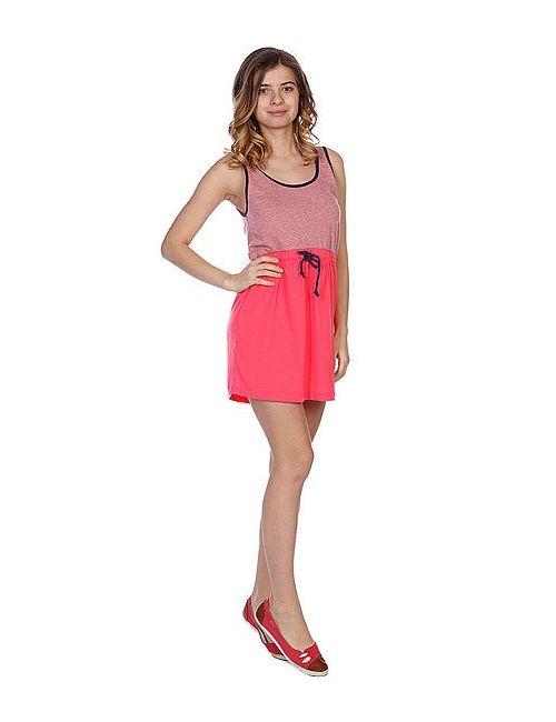 Roxy   Женское Розовое Платье Женское Block Glow Pink