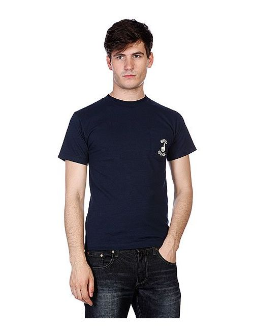Bro Style | Мужская Синяя Футболка Pocket Black