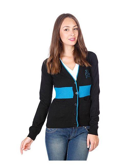 Zoo York | Женский Чёрный Кардиган Женский Arrow Sweater Black