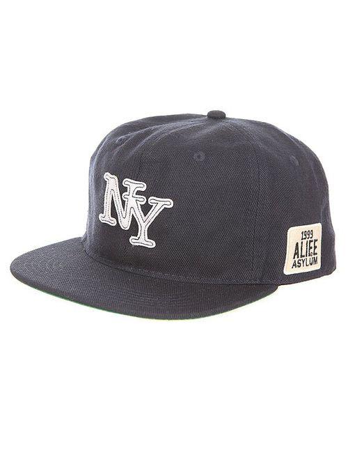 Alife   Мужская Синяя Бейсболка С Прямым Козырьком Nueva York Snapback