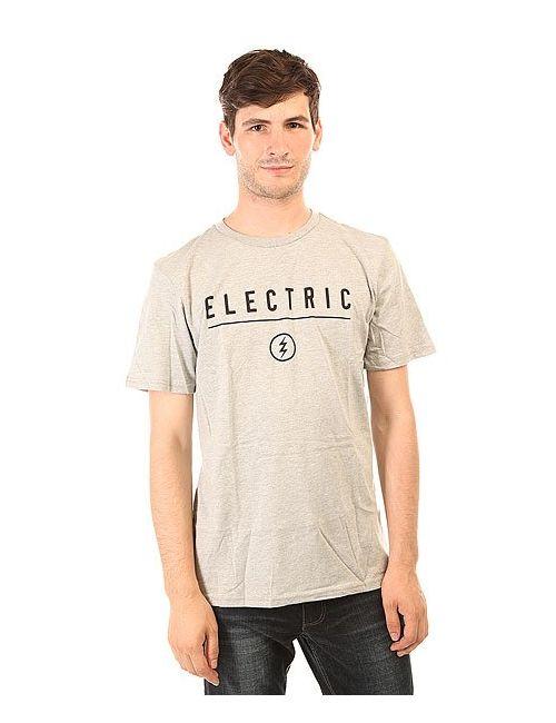 Electric | Мужская Серая Футболка Corp. Identity Heather Grey