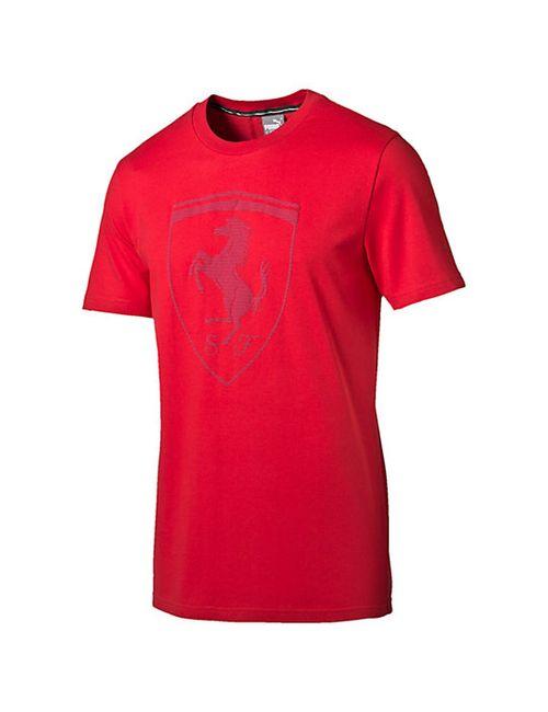 Puma | Мужская Футболка Ferrari Big Shield Tee