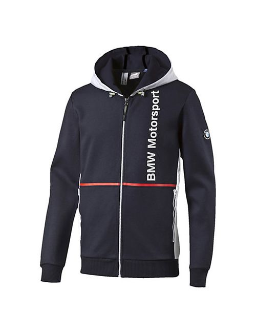 Puma | Мужская Толстовка Bmw Msp Hooded Sweat Jacket
