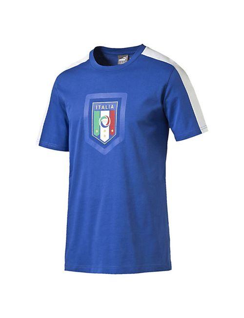 Puma   Мужская Футболка Figc Italia Fanwear Badge Tee