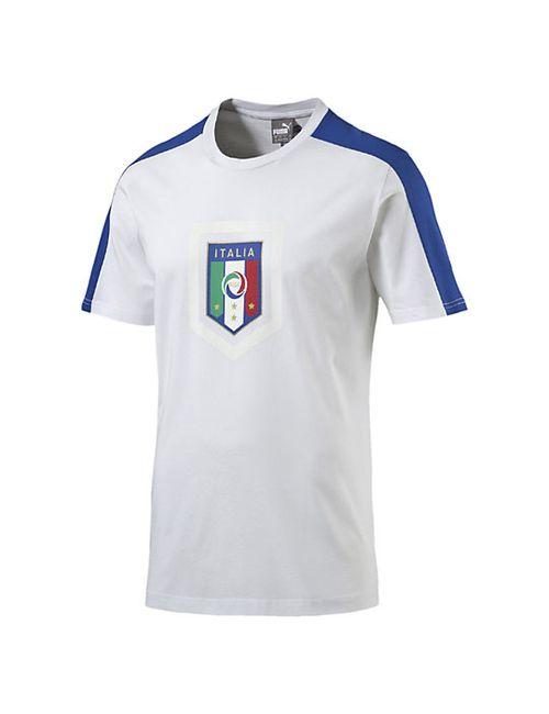 Puma | Мужская Футболка Figc Italia Fanwear Badge Tee