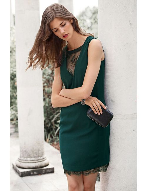 Next | Женское Черный Платье