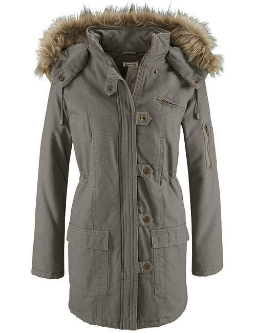 BOYSEN'S | Женская Хаки Куртка-Парка