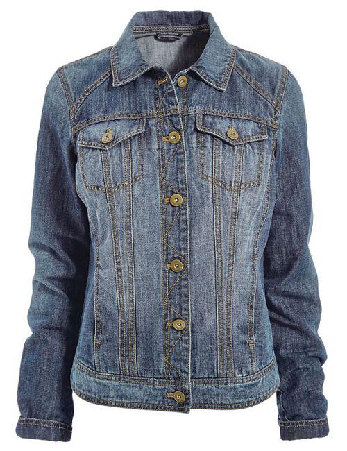 Next | Женская Синяя Джинсовая Куртка