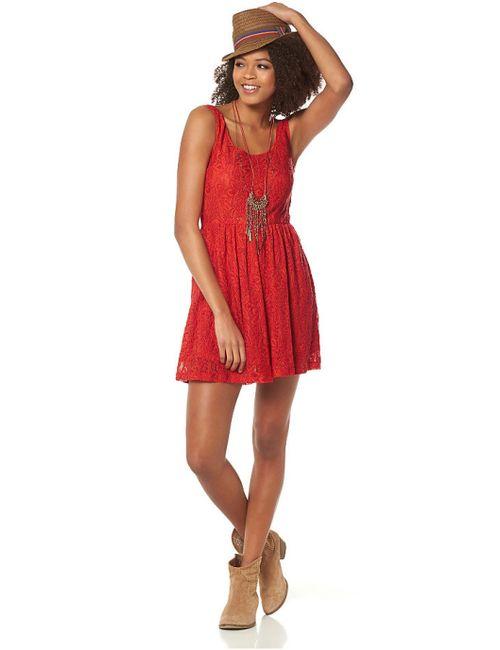 AJC | Женское Красное Платье