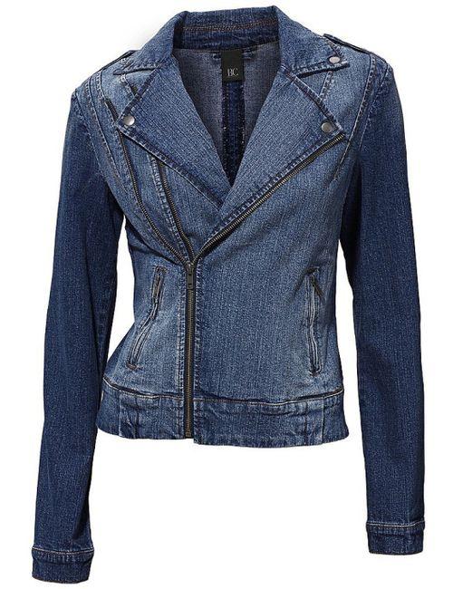 B.C. Best Connections   Женская Синяя Джинсовая Куртка