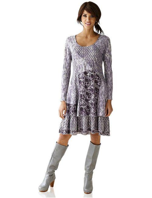 Linea Tesini   Женское Фиолетовое Платье