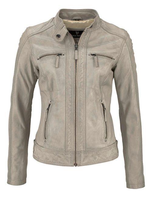 Bruno Banani | Женская Коричневая Кожаная Куртка