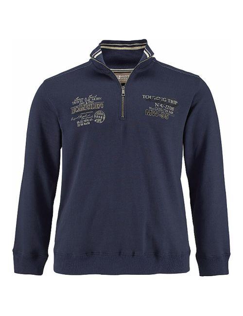 MAN'S WORLD   Мужской Синий Пуловер