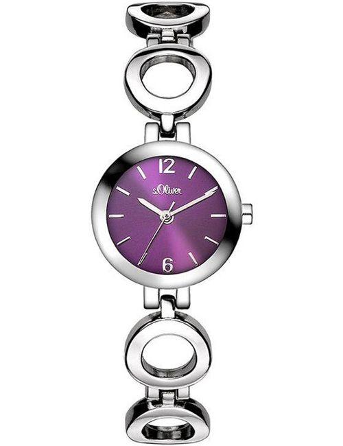 s.Oliver | Женские Серебристые Наручные Часы