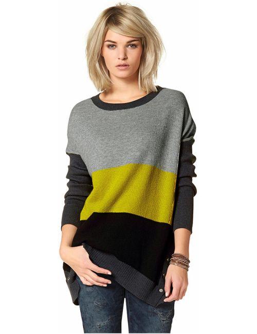 Laura Scott | Женский Жёлтый Удлиненный Пуловер