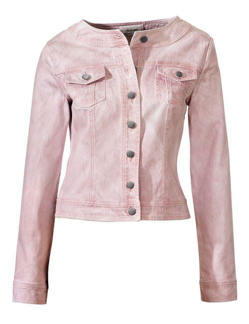 Linea Tesini | Женская Розовая Куртка
