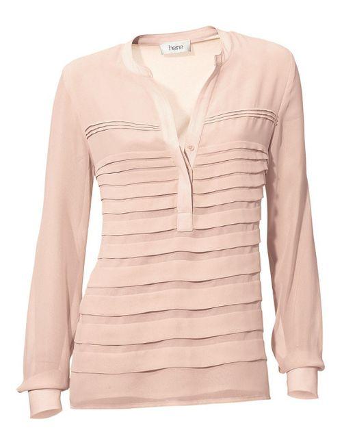 Heine | Женская Розовая Блузка