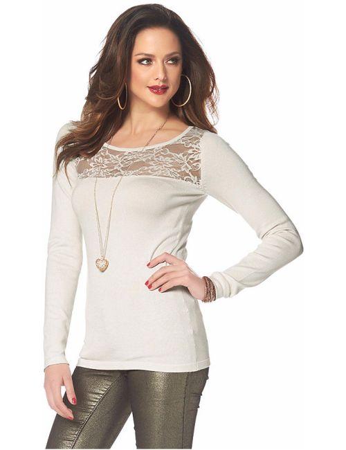 Melrose | Женский Кремовый Пуловер