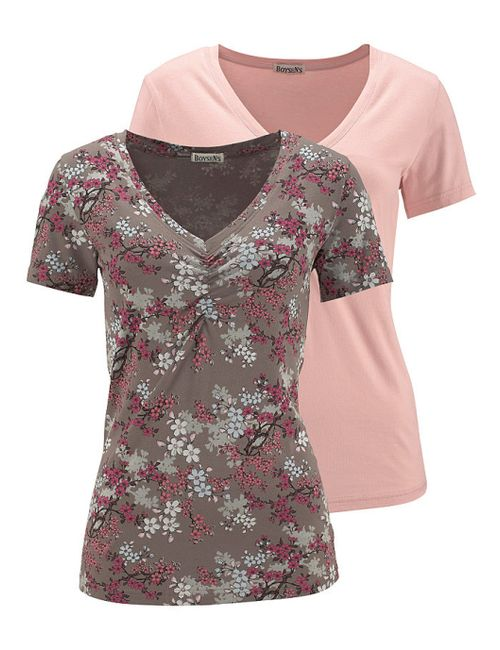 BOYSEN'S   Женская Розовая Кофточка 2 Штуки