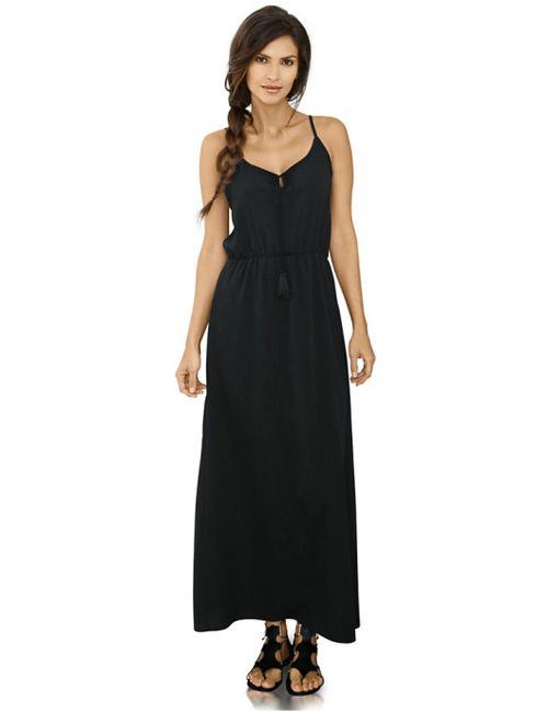 Ashley Brooke | Женское Чёрное Платье Макси