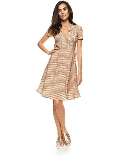 Rick Cardona | Женское Абрикосовое Платье