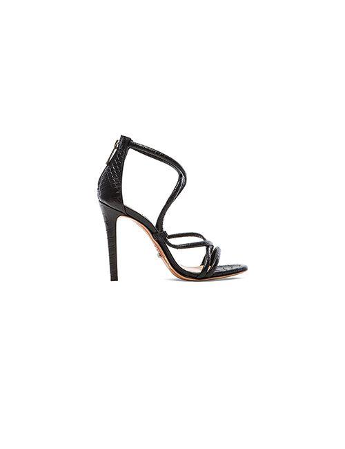 SCHUTZ | Женские Чёрные Туфли На Каблуке Brazilian