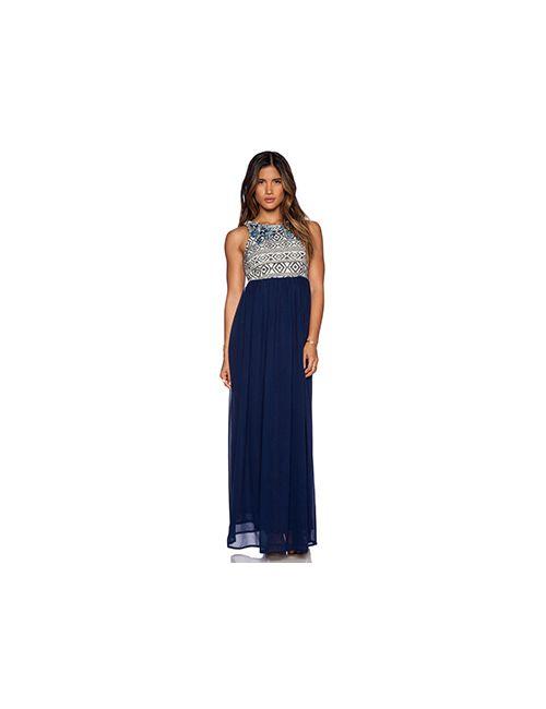 Tularosa | Женское Синее Платье Без Рукавов Montera