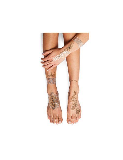 FLASH Tattoos | Мужской Золотой Тату Sheebani