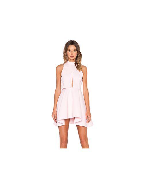 C/MEO | Женское Розовое Платье New Way