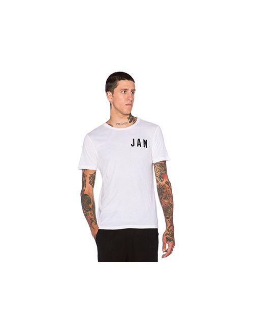 Rxmance   Мужская Белая Футболка Jamaica