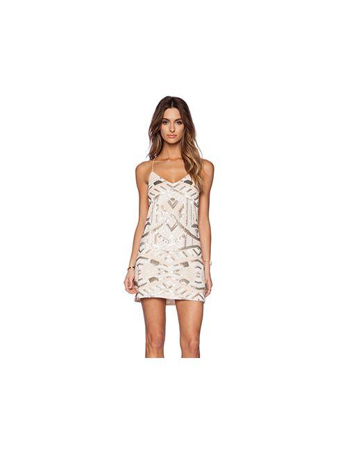 SAYLOR | Женское Слоновая Костящее Платье Talia