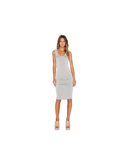 LA Made | Женское Серое Платье Со Складками Frankie