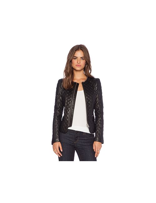 ANINE BING | Женская Чёрная Стёганая Куртка