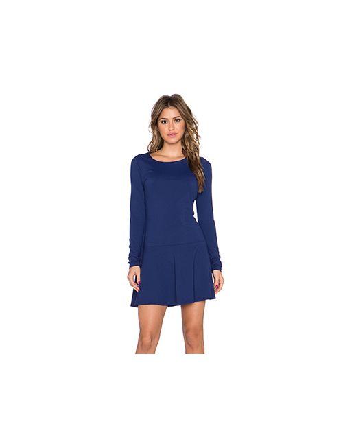 Susana Monaco | Женское Синее Платье Pixie