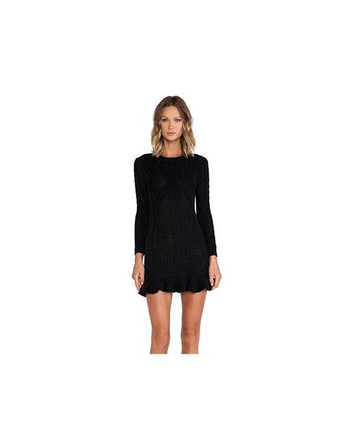 Unif | Женское Чёрное Платье Alleger