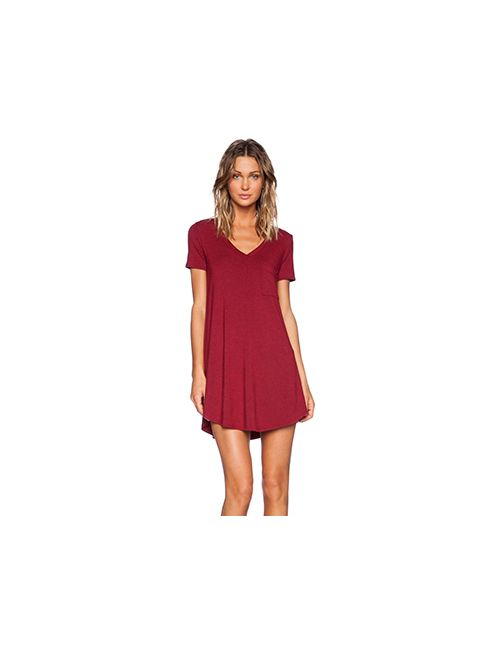 Heather | Женское Красное Платье