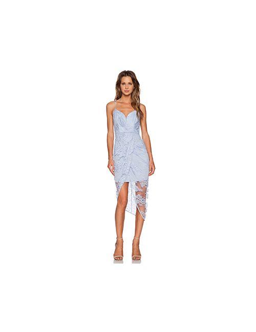 Zimmermann | Женское Синее Платье Seer