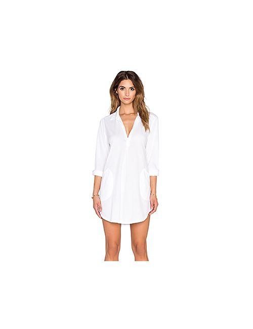CP SHADES | Женское Белое Платье Teton