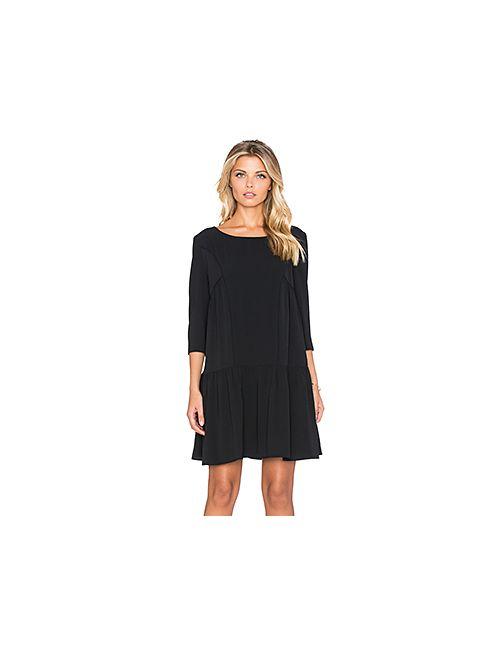 Ba&Sh | Женское Чёрное Платье Stinson
