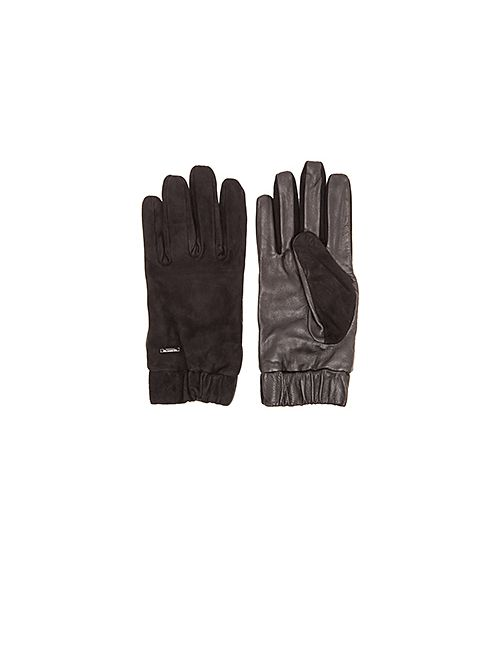 SCOTCH & SODA | Чёрные Перчатки Glove In Suede And Leather Quality
